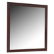 Homelegance Hendrick Mirror in Cherry 2113-6