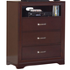 Homelegance Hendrick TV Chest in Cherry 2113-11
