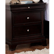 Homelegance Inglewood Nightstand in Deep Cherry 1402-4