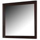 Homelegance Inglewood Rectangular Mirror in Deep Cherry 1402-6RT