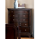 Homelegance Inglewood Chest in Deep Cherry 1402-9