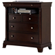 Homelegance Inglewood TV Chest in Deep Cherry 1402-11