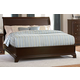 Homelegance Inglewood Queen Platform Bed in Deep Cherry 1402LP-1