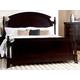 Homelegance Inglewood Queen Poster Bed in Deep Cherry 1402-1