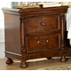 Homelegance Isleworth Nightstand in Dark Brown 1403-4