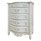 Acme Pearl 5-Drawer Chest in Pearl White 01016