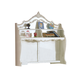 Acme Pearl Desk Hutch in Pearl White 01018