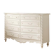 Acme Pearl 8-Drawer Dresser in Pearl White 01020