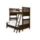 Universal Paula Deen Guys Twin Over Full Bunk Bed in Molasses 2391590
