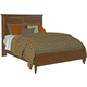 Kincaid Cherry Park Solid Wood Queen Panel Storage Bed
