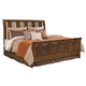 Kincaid Cherry Park Solid Wood Queen Sleigh Bed 63-150P
