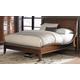 Homelegance Kasler Queen Platform Bed in Medium Walnut 2135-1