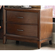 Homelegance Kasler Nightstand in Medium Walnut 2135-4