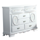 Acme Flora Door Dresser in White 01665
