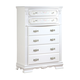 Acme Flora Chest in White 01666