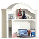 Acme Flora Desk Hutch in White 01688