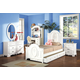 Acme Flora Panel Bedroom Set in White