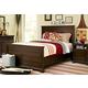 Universal Paula Deen Guys Panel Bedroom Set in Molasses