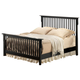 Acme Ridgeville Eastern King Slat Bed in Black 01757EK