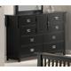 Acme Ridgeville 8-Drawer Dresser in Black 01765
