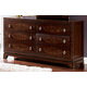Homelegance Lakeside Dresser in Warm Brown Cherry 846-5