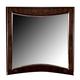 Homelegance Lakeside Mirror in Warm Brown Cherry 846-6