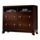 Homelegance Lakeside TV Chest in Warm Brown Cherry 846-11
