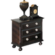Acme Amherst 3-Drawer Nightstand in Espresso 01793