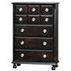 Acme Amherst 5-Drawer Chest in Espresso 01796