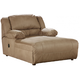 Hogan Press Back Chaise in Mocha