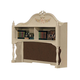 Acme Doll House Desk Hutch in Cream 02192