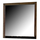 Homelegance Langston Mirror in Brown Cherry 1746-6
