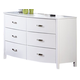 Homelegance Lyric Dresser in White 1737W-5
