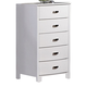 Homelegance Lyric Chest in White 1737W-9