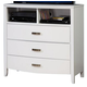 Homelegance Lyric TV Chest in White 1737W-11