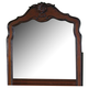 Homelegance Madaleine Mirror in Warm Cherry 1385-6