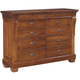 Kincaid Tuscano Solid Wood Ten Drawer Dresser 96-163