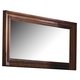 Kincaid Tuscano Solid Wood Landscape Mirror with Beveled Edge  96-114