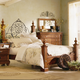 Kincaid Tuscano Solid Wood Queen Poster Bed