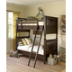 Universal Paula Deen Guys Bunk Bedroom Set in Molasses
