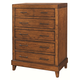 Aspenhome Tamarind Five Drawer Chest in Chutney I68-456