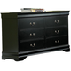 Homelegance Marianne Dresser in Black 539BK-5