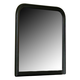 Homelegance Marianne Mirror in Black 539BK-6