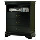 Homelegance Marianne TV Chest in Black 539BK-11
