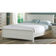 Homelegance Marianne Queen Sleigh Bed in White 539W-1