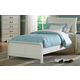 Homelegance Marianne Twin  Sleigh Bed in White 539TW-1