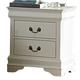 Homelegance Marianne Nightstand in White 539W-4