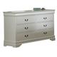 Homelegance Marianne Dresser in White 539W-5