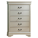 Homelegance Marianne Chest in White 539W-9