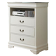 Homelegance Marianne TV Chest in White 539W-11